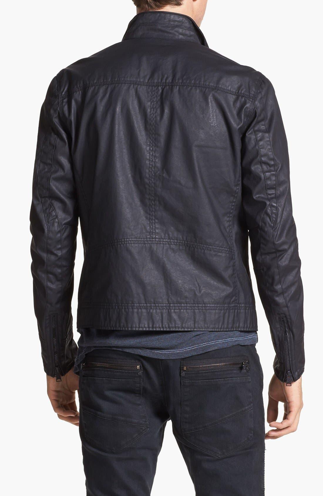 Alternate Image 2  - Rogue Coated Moto Jacket