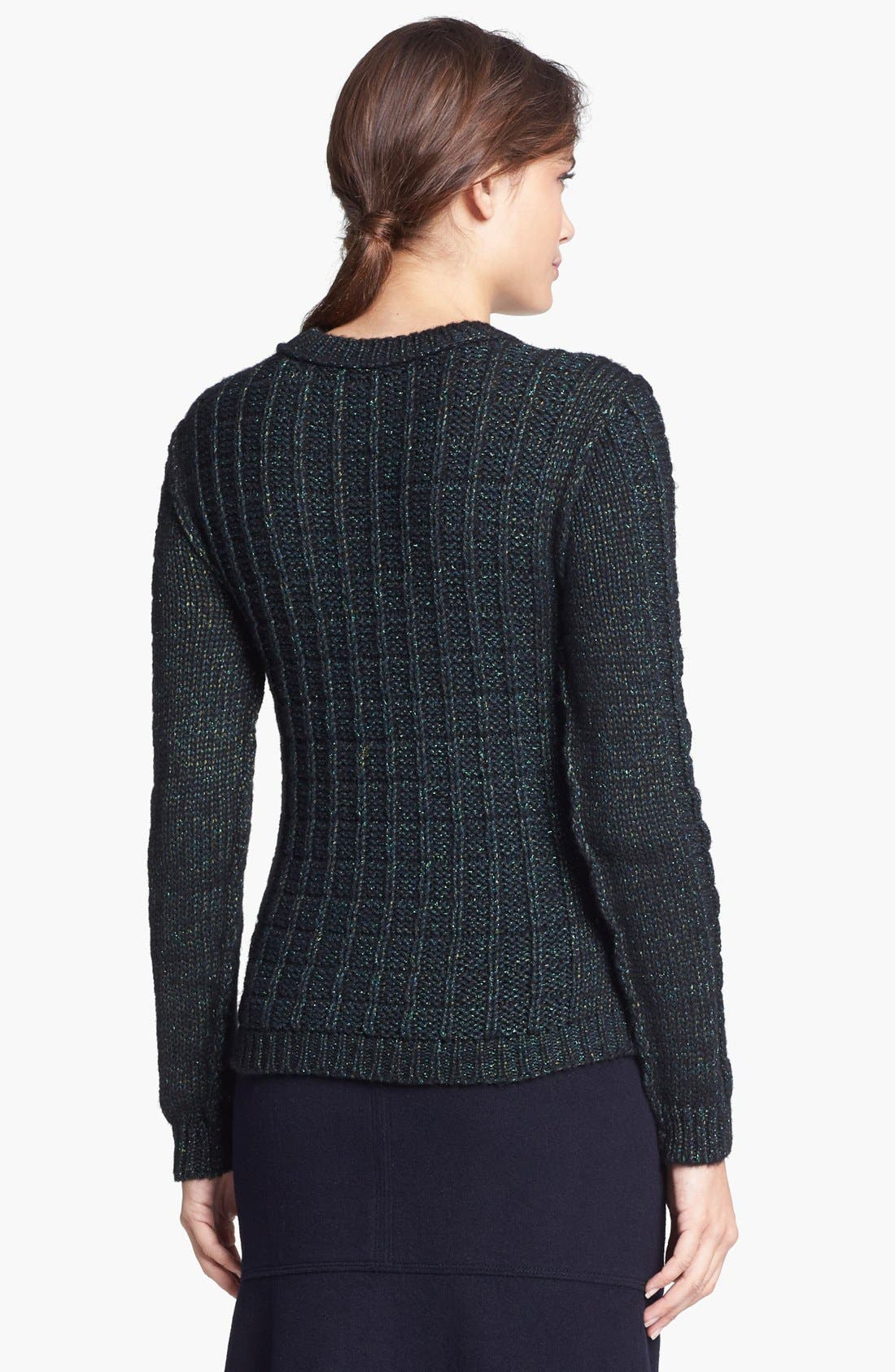 Alternate Image 2  - Tory Burch 'Lucy' Embellished Sweater