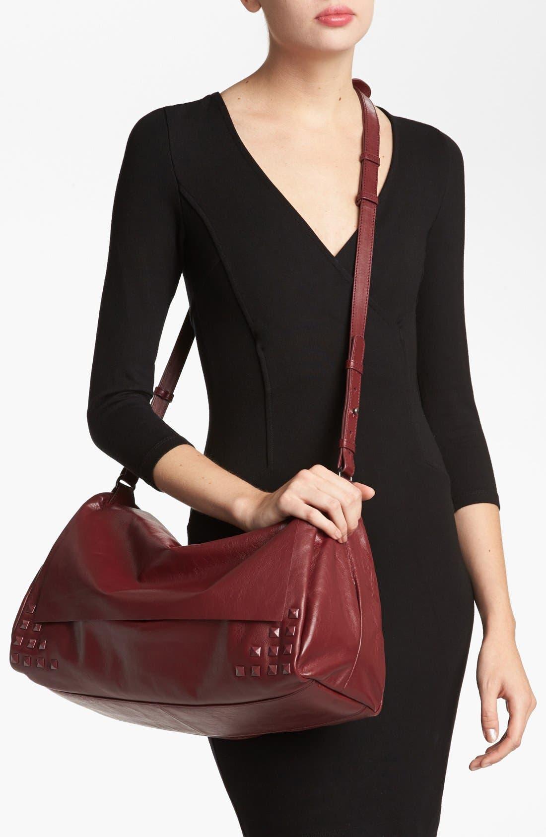 Alternate Image 2  - Trouvé 'Large' Studded Leather Crossbody Bag