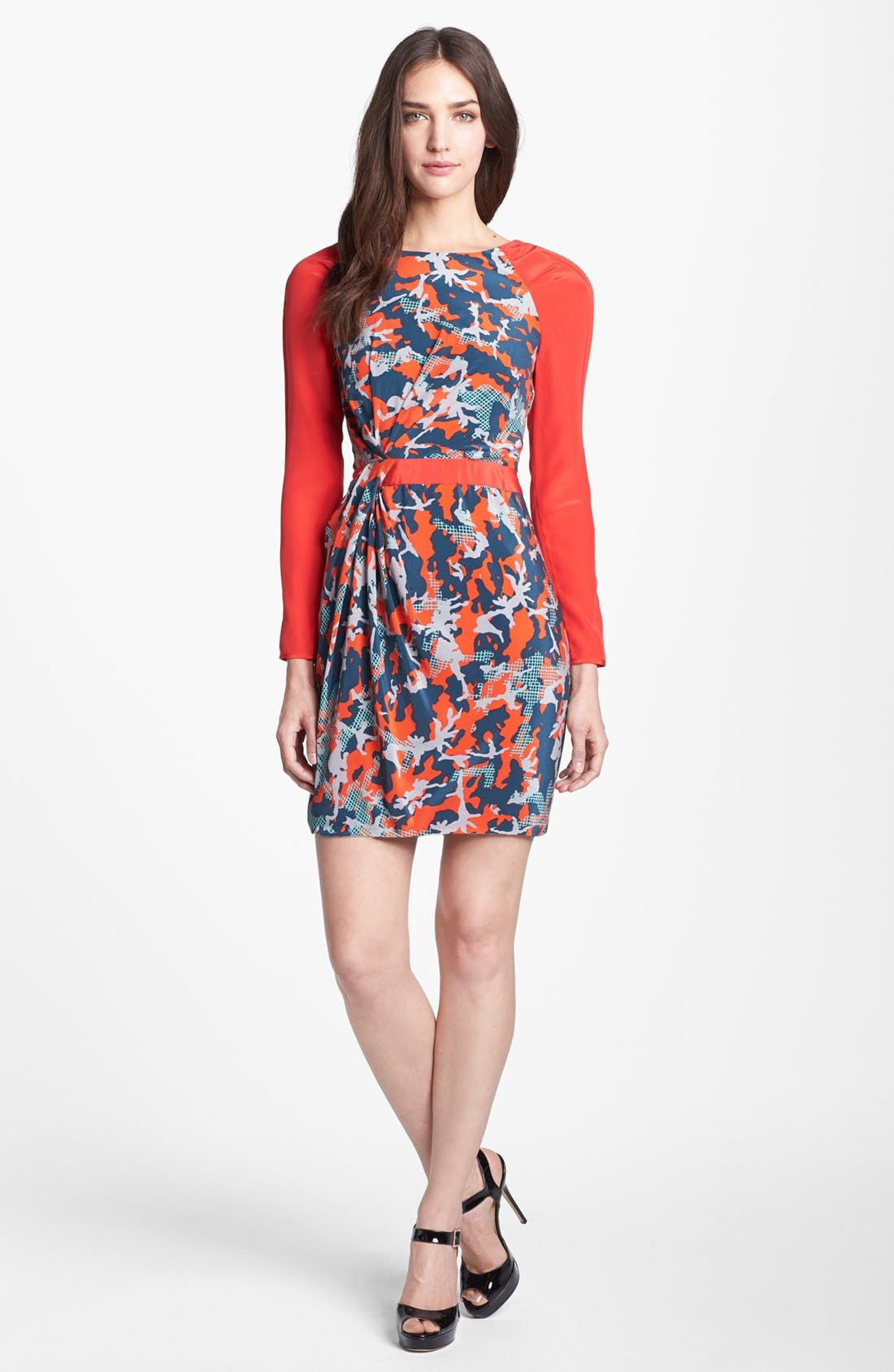 Alternate Image 1 Selected - Rebecca Minkoff 'Sacramento' Silk Sheath Dress