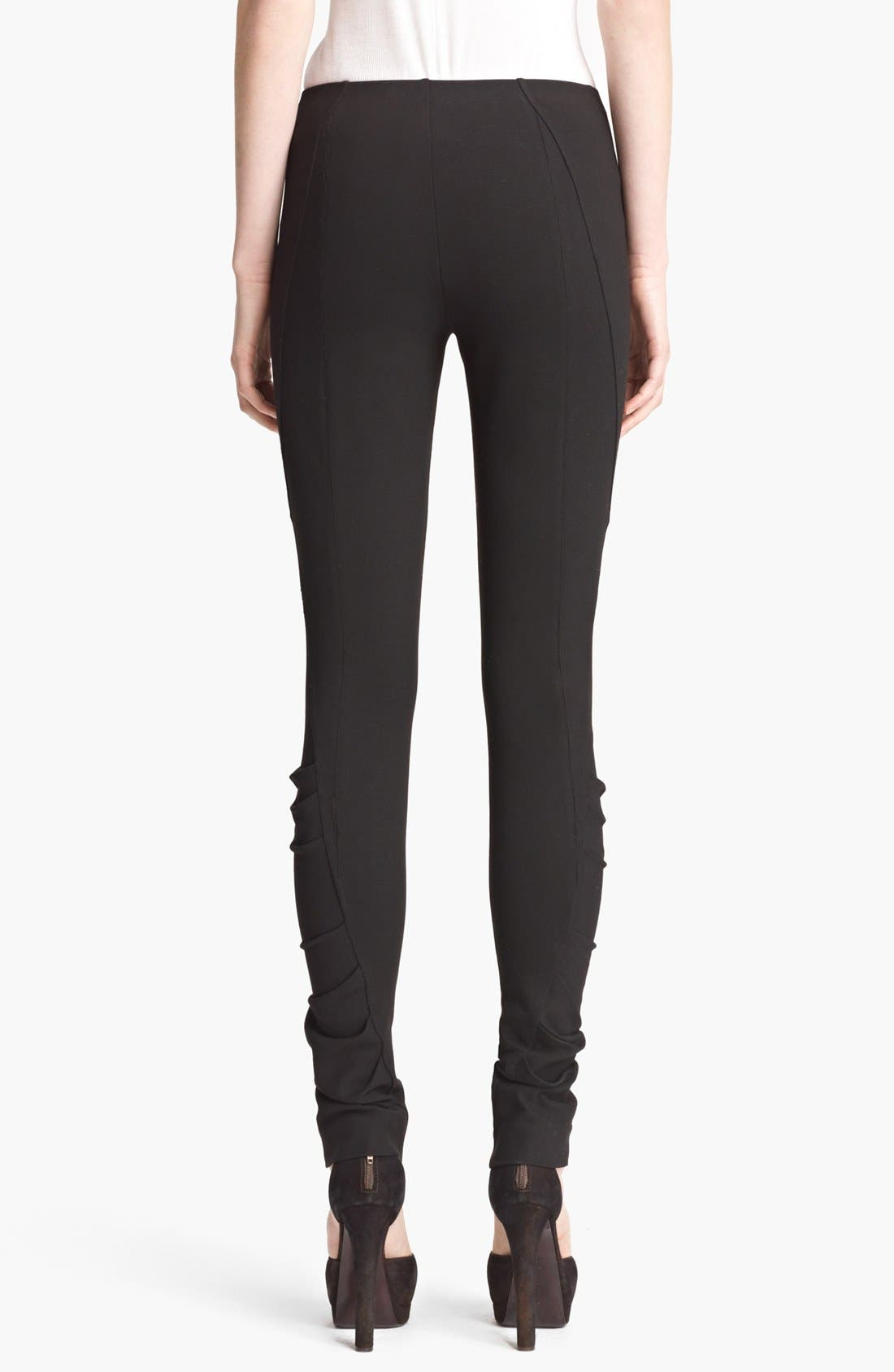 Alternate Image 2  - Donna Karan Collection Structured Jersey Pants