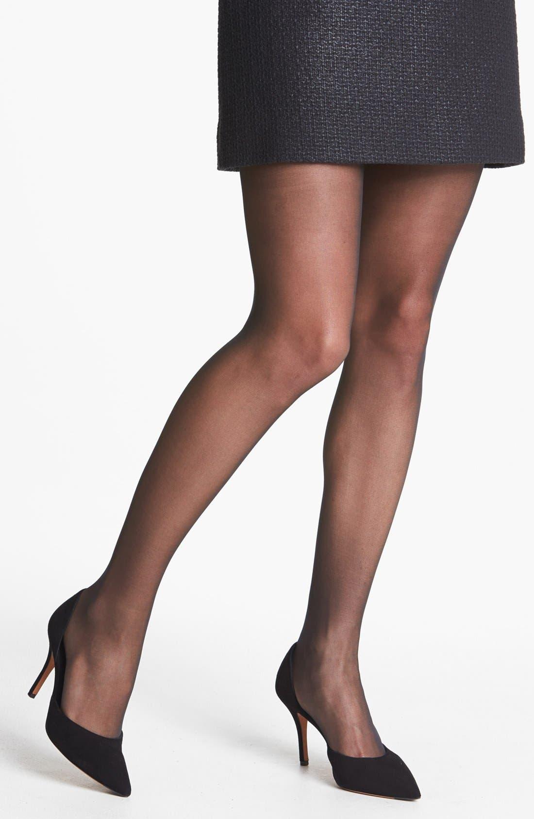 Alternate Image 1 Selected - DKNY Lowrise Girlshort Control Top Pantyhose