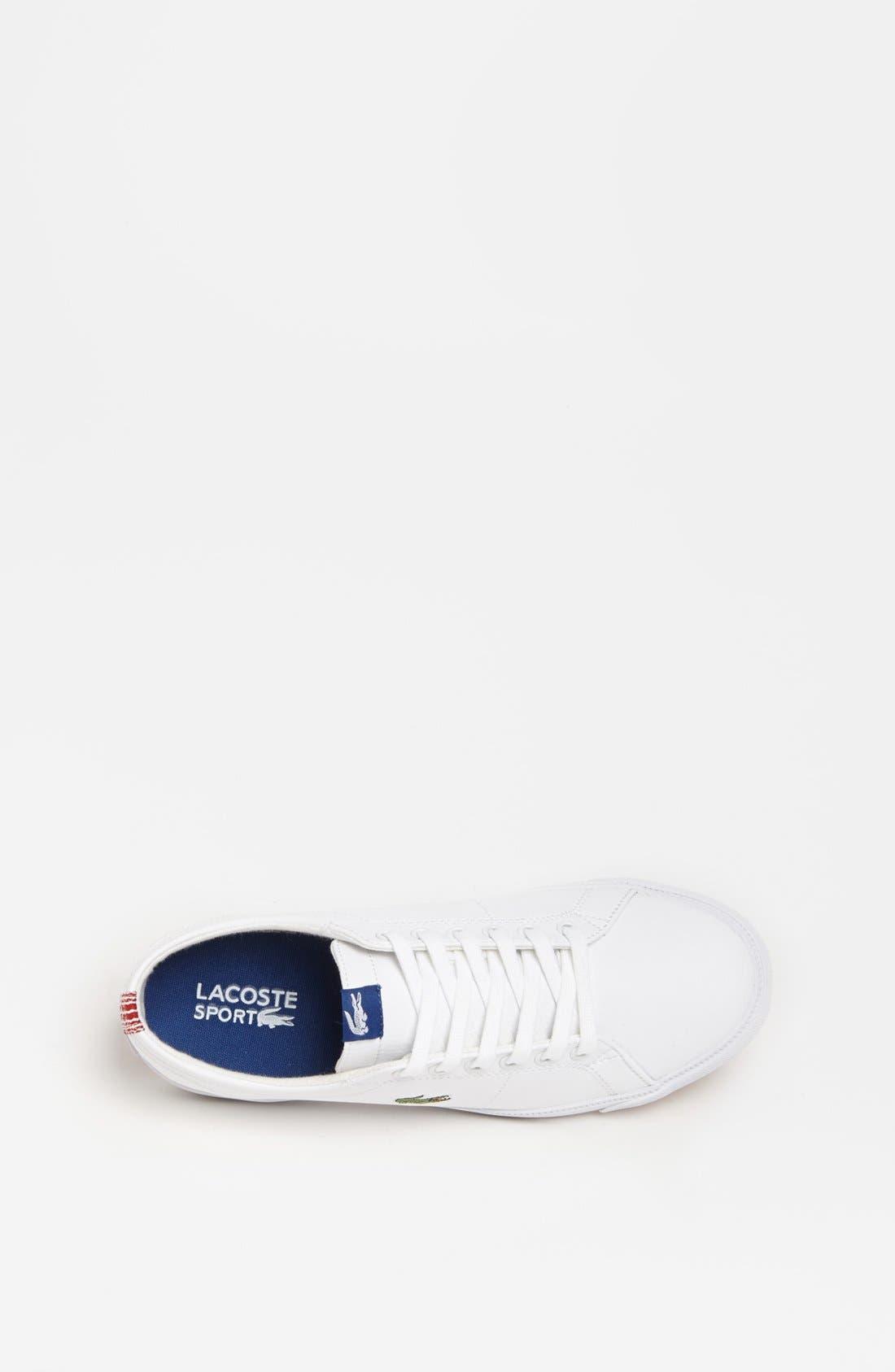 Alternate Image 3  - Lacoste 'Marcel' Sneaker (Little Kid & Big Kid)