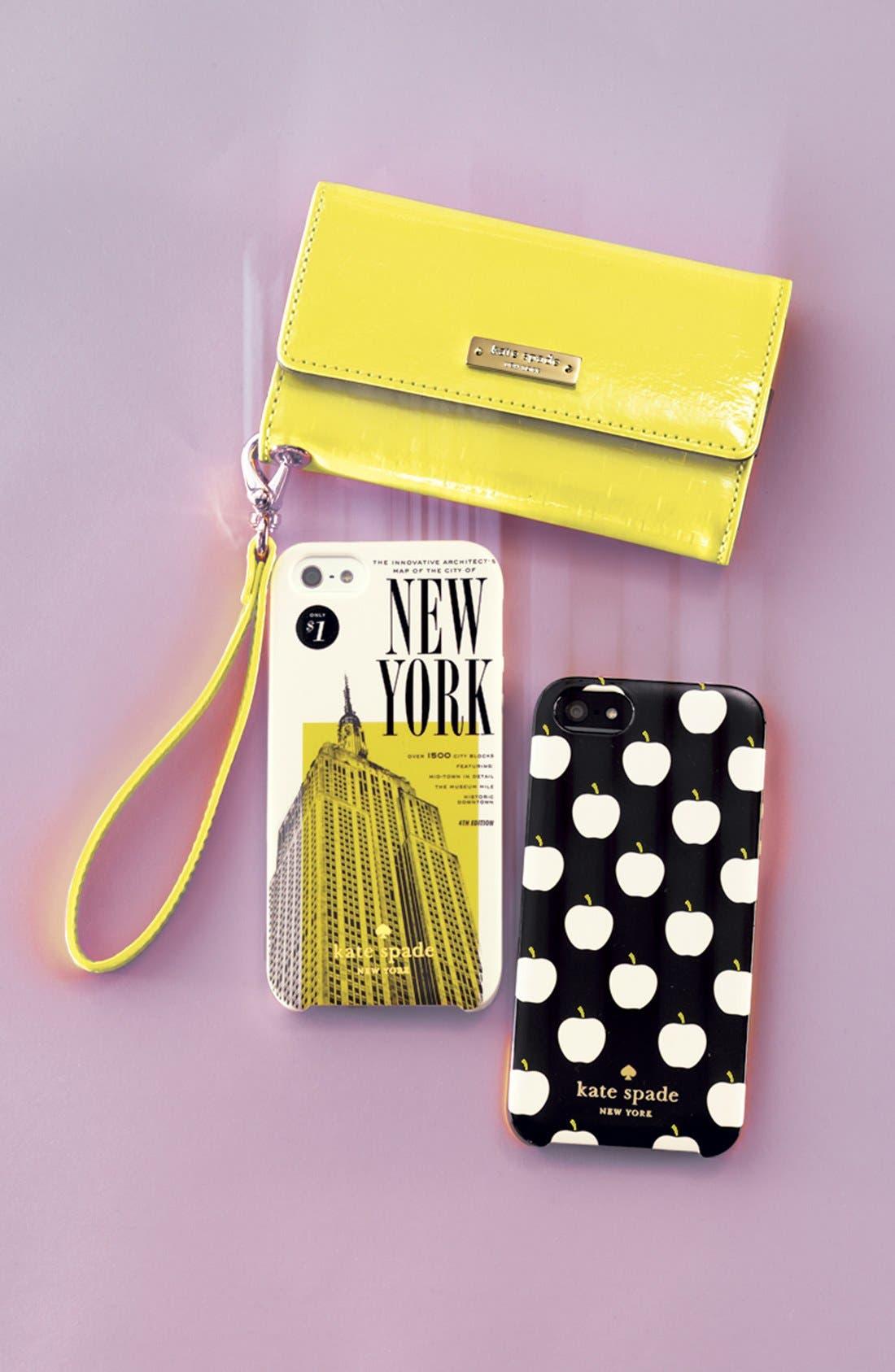 Alternate Image 2  - kate spade new york 'new york map' iPhone 5 & 5S case