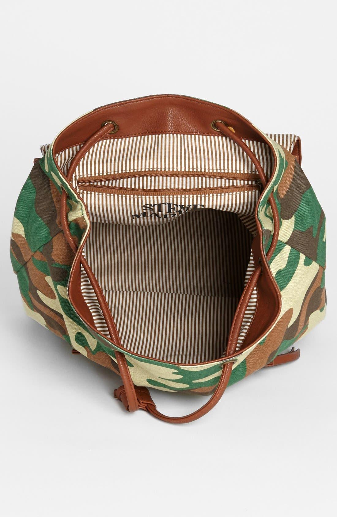 Alternate Image 3  - Steve Madden Canvas Backpack