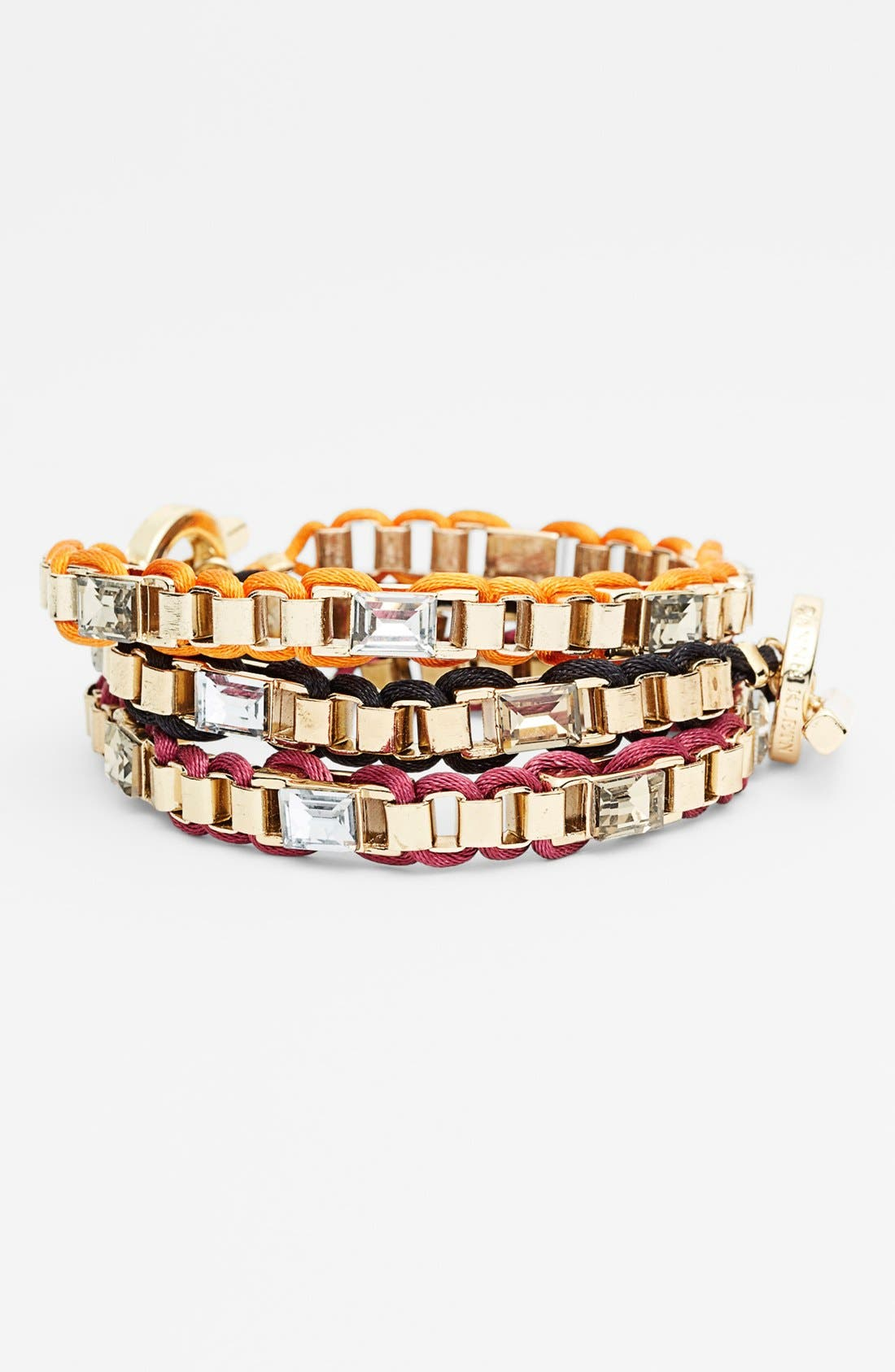Alternate Image 1 Selected - Anne Klein Small Link Bracelet
