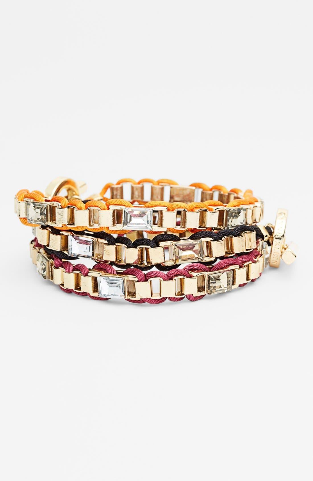 Main Image - Anne Klein Small Link Bracelet