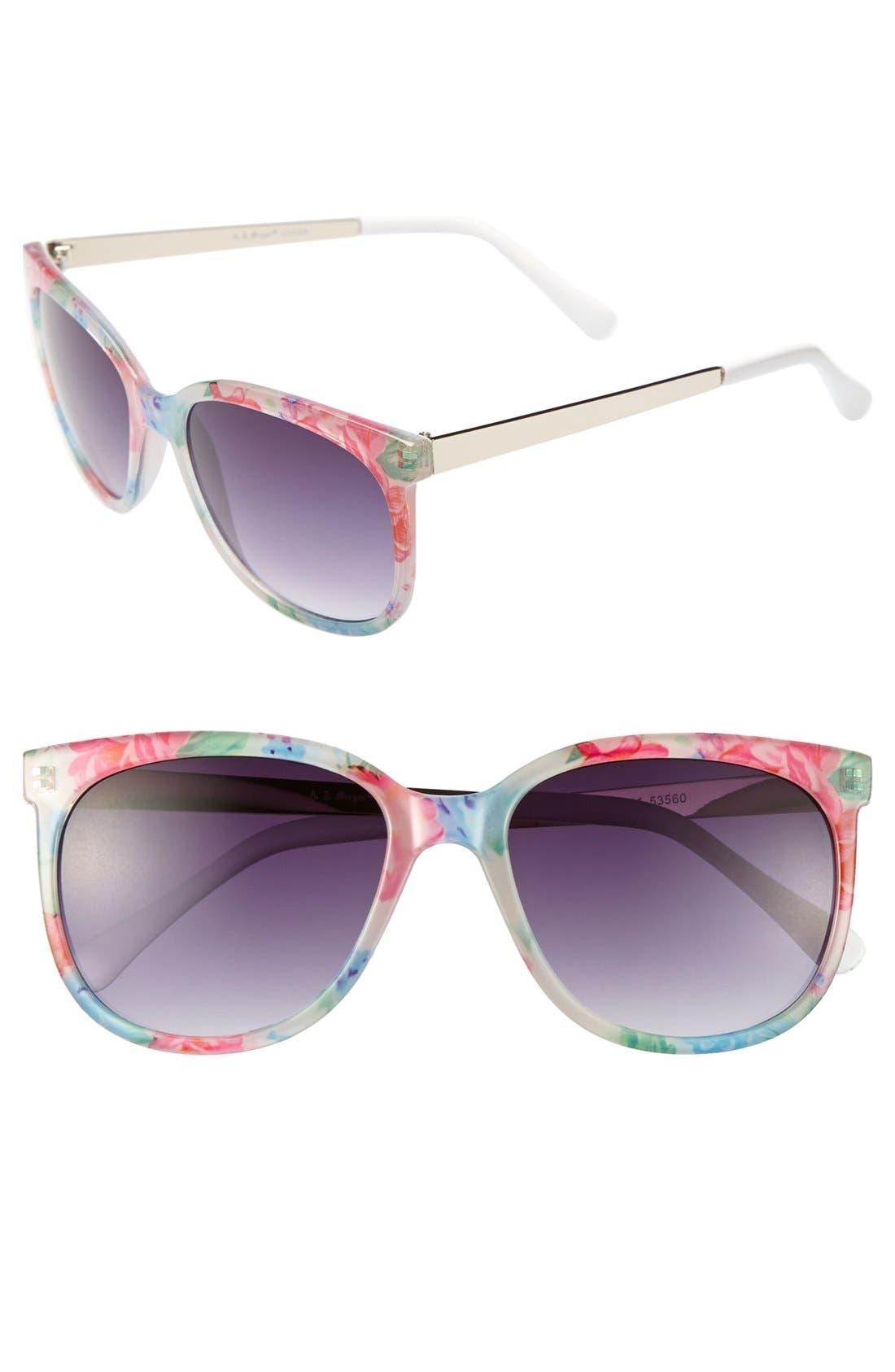Alternate Image 1 Selected - A.J. Morgan 'Mirage' Sunglasses