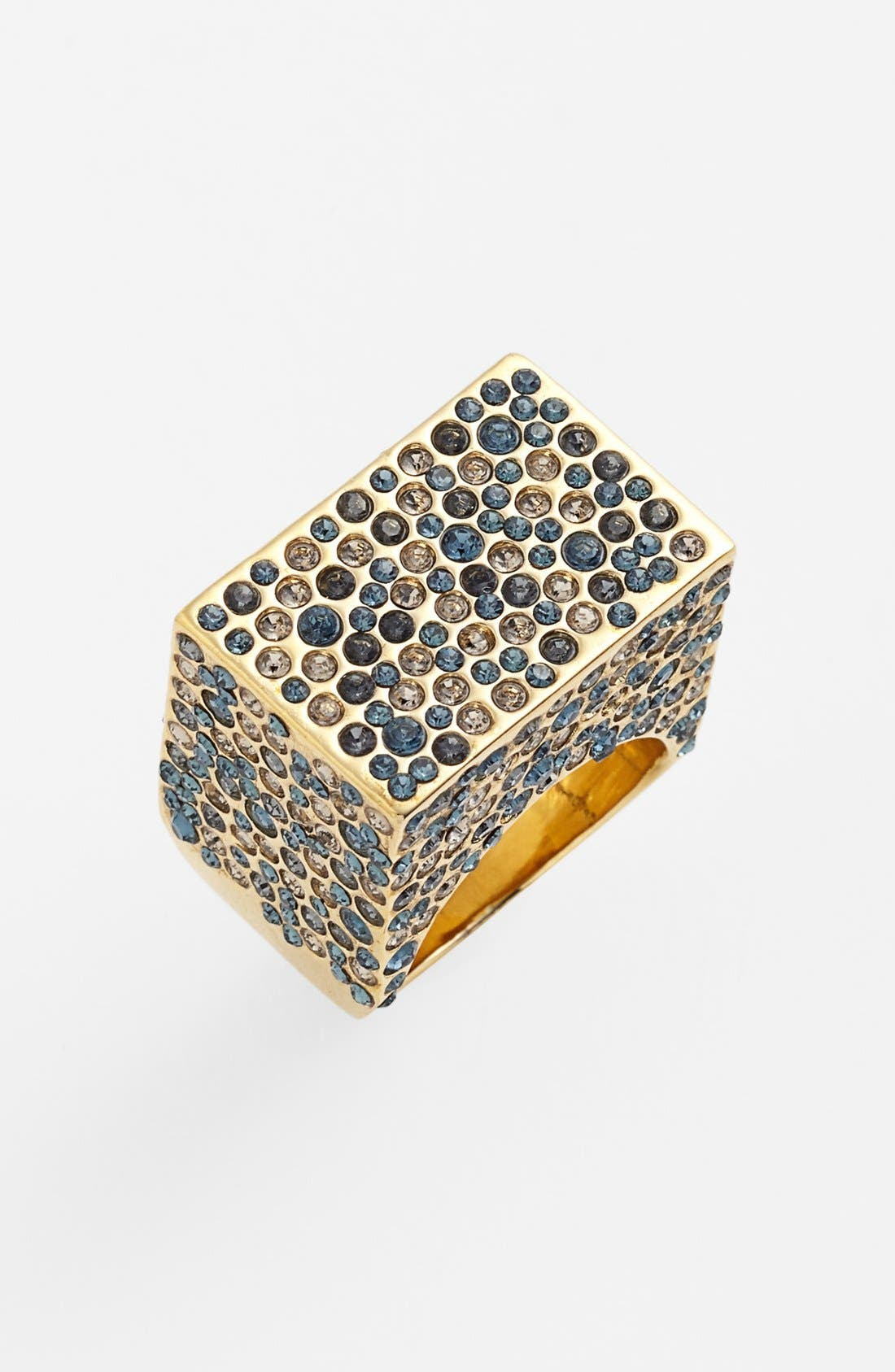 Alternate Image 1 Selected - St. John Collection Pavé Box Statement Ring