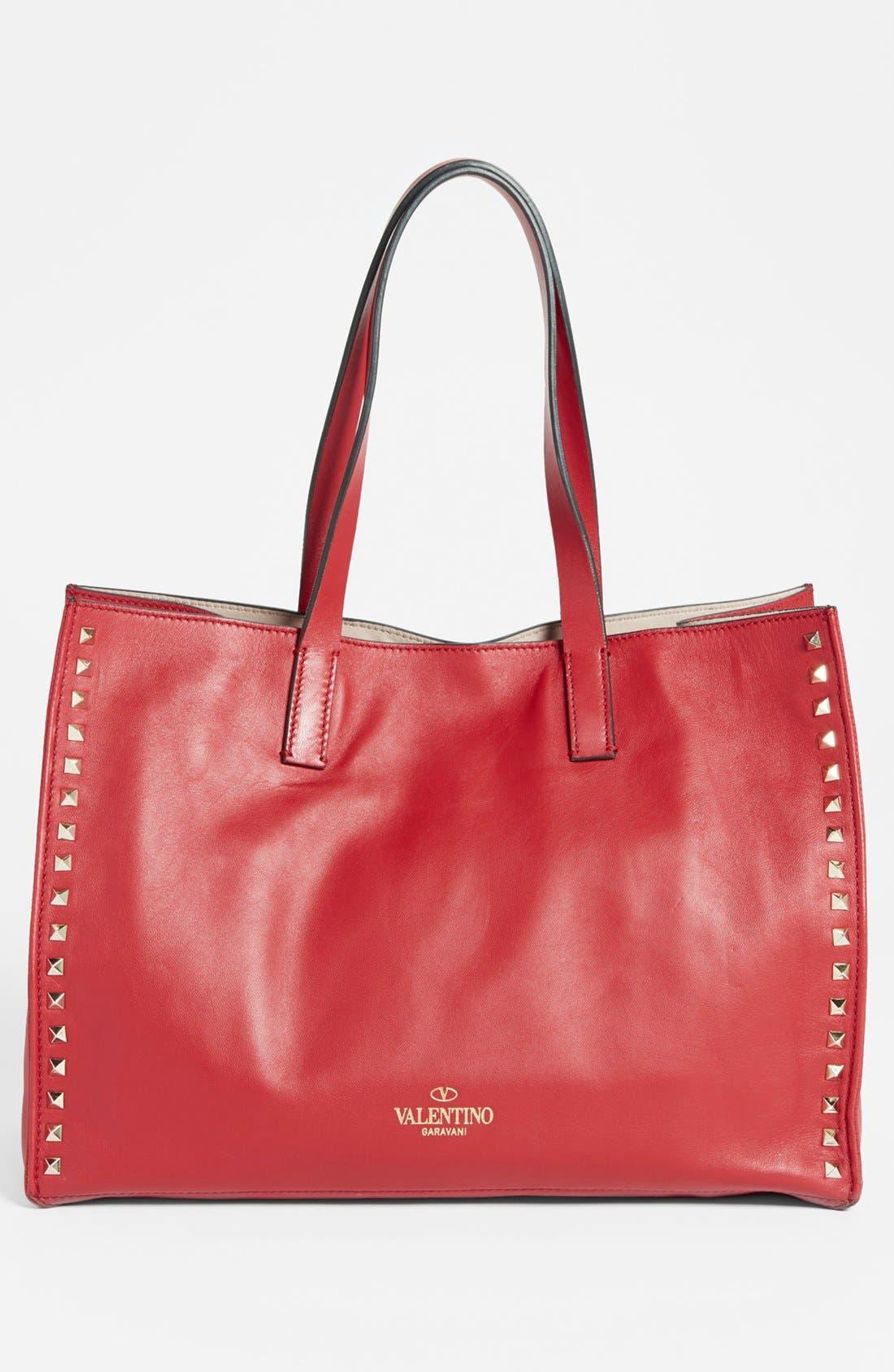 Alternate Image 2  - Valentino 'Medium Rockstud' Leather Tote