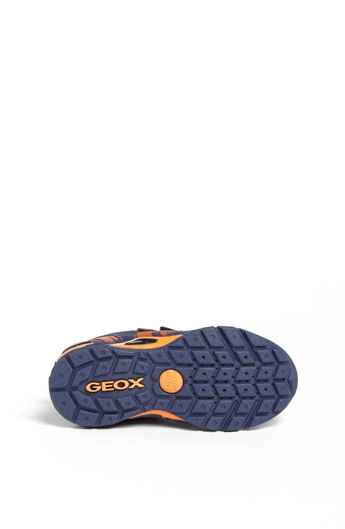 Alternate Image 4  - Geox 'Supreme' Light-Up Sneaker (Toddler, Little Kid & Big Kid)