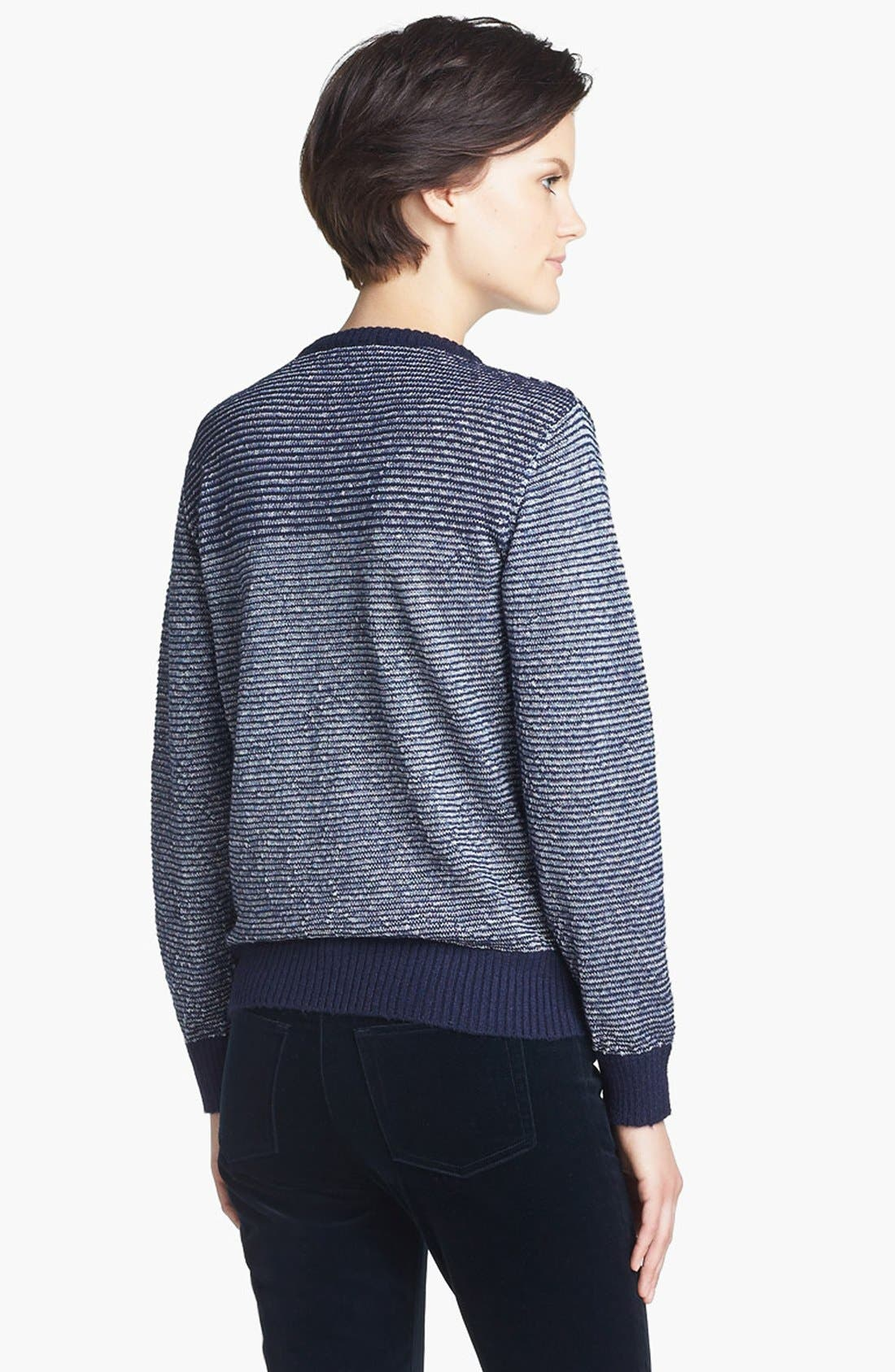 Alternate Image 3  - A.P.C. Stripe Sweater