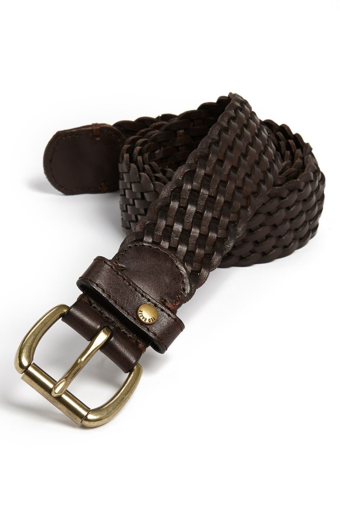 Alternate Image 1 Selected - Ted Baker London Woven Leather Belt