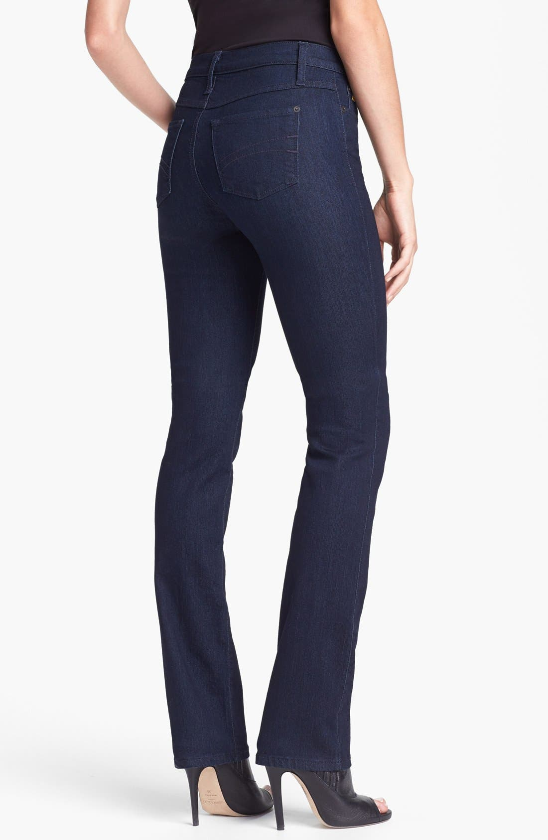 Alternate Image 2  - Yoga Jeans by Second Straight Leg Jeans