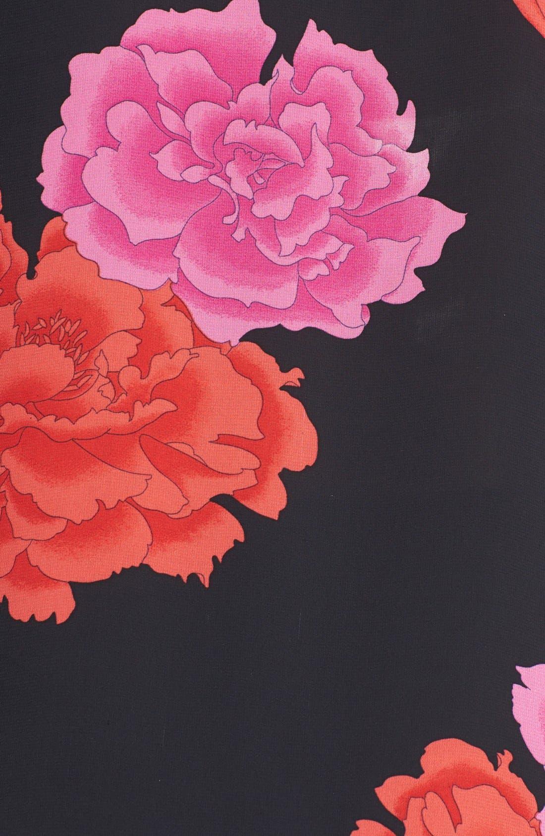 Alternate Image 5  - Vince Camuto 'Peonies' Embellished Blouse