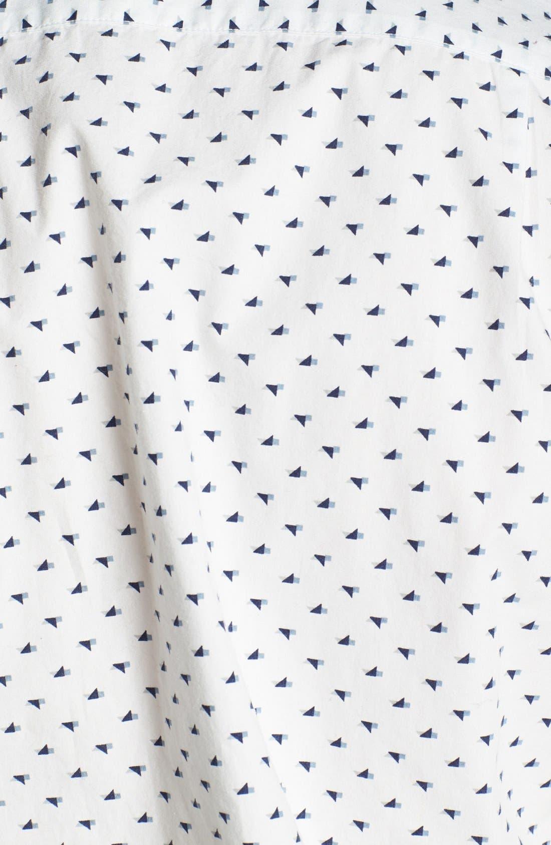 Alternate Image 3  - Jack Spade 'Tangram Bird' Print Woven Shirt