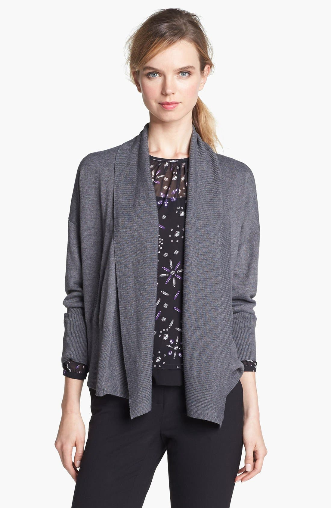 Alternate Image 4  - Vince Camuto Shawl Collar Open Cardigan (Online Only)