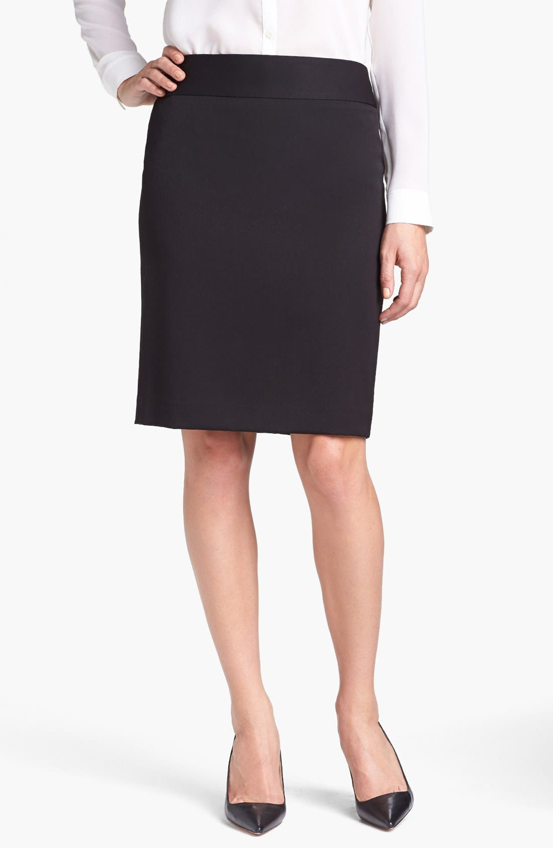 Alternate Image 1 Selected - Anne Klein Pencil Skirt (Petite)