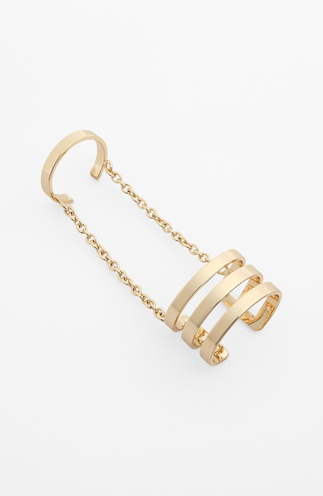 Main Image - Metal Haven by KENDALL + KYLIE 'Cage' Ring (Juniors) (Nordstrom Exclusive)