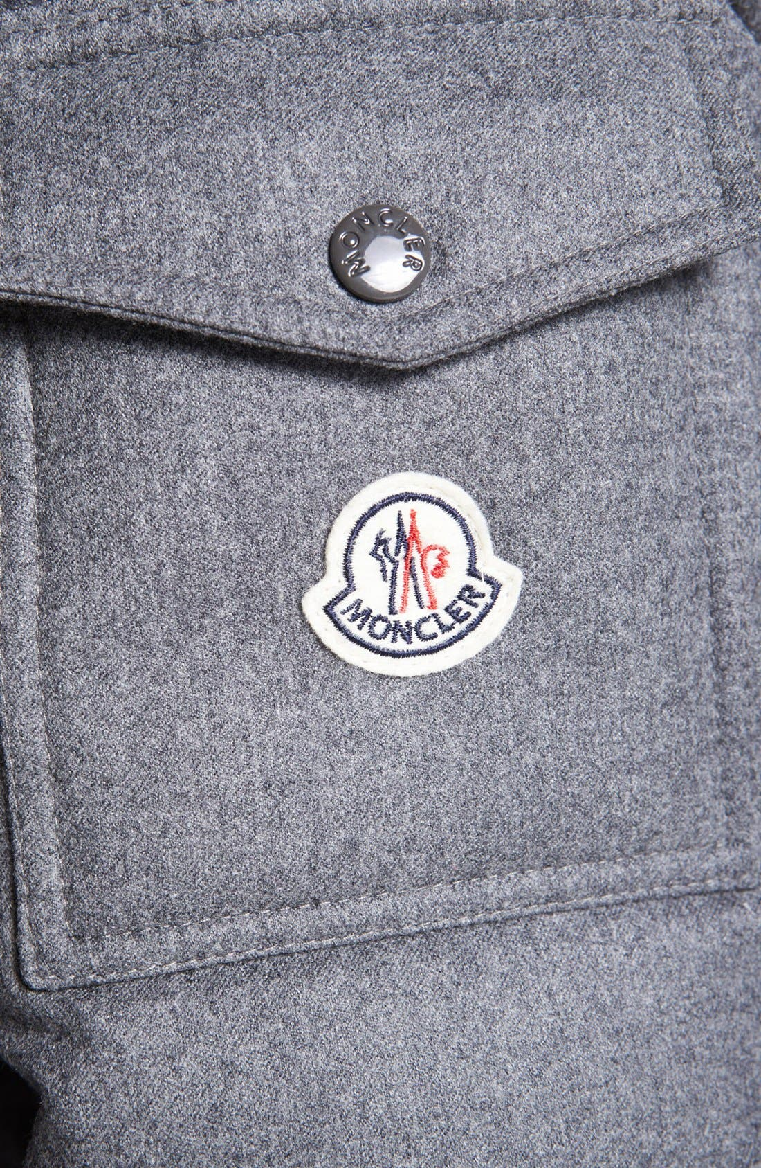 Alternate Image 3  - Moncler 'Mongenevre' Wool Down Jacket