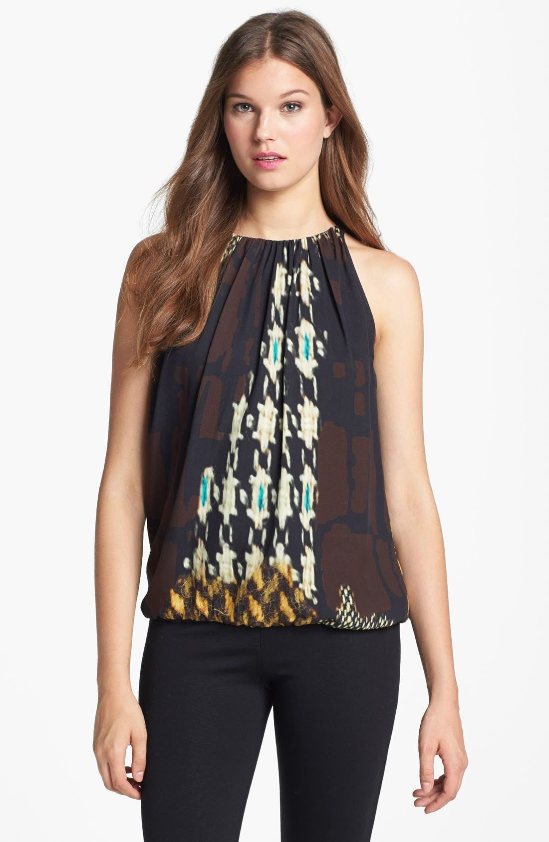 Alternate Image 1 Selected - Trina Turk 'Bella' Print Top