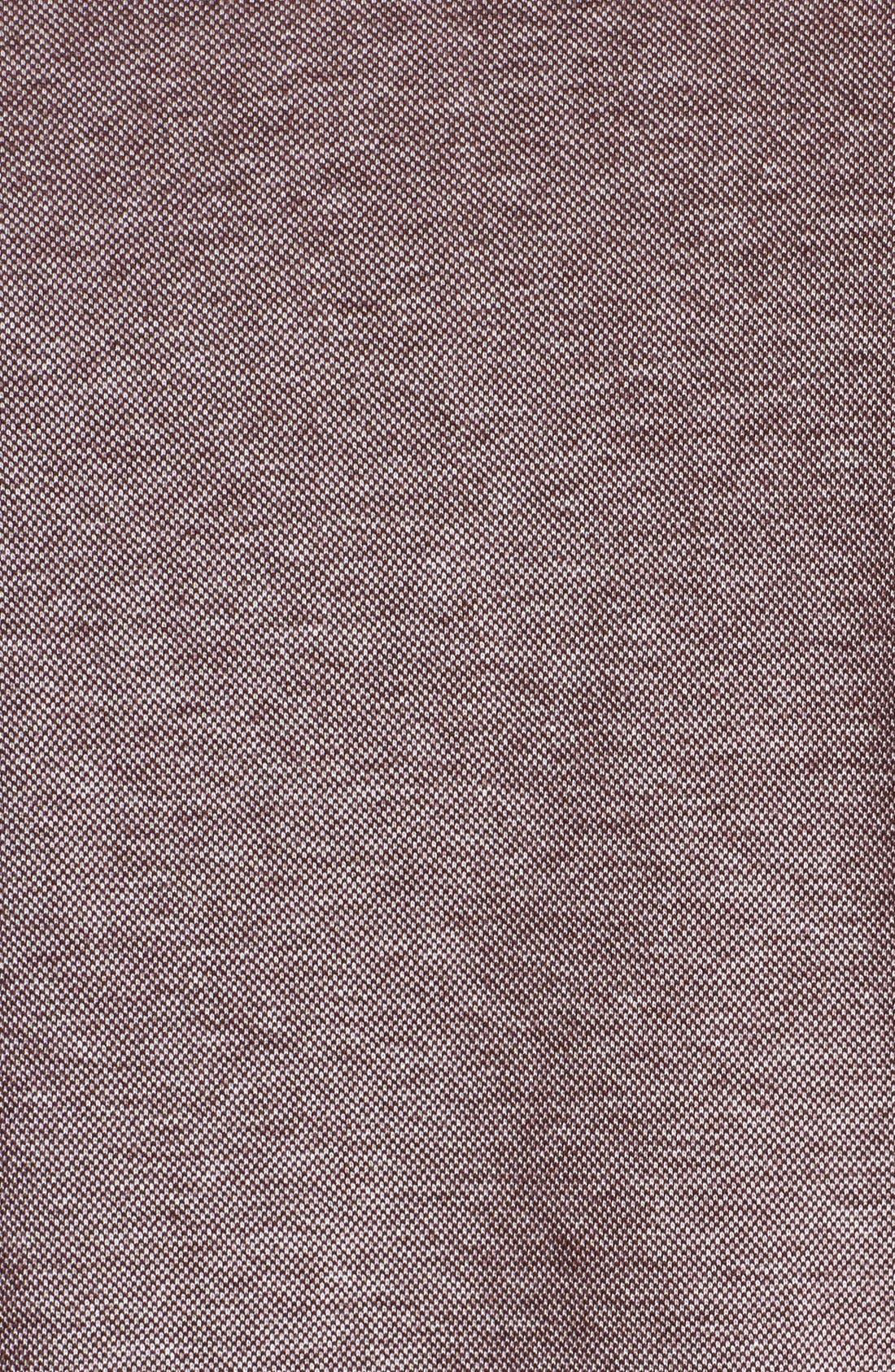 Alternate Image 3  - BOSS HUGO BOSS 'Piceno' Mock Neck Sweatshirt