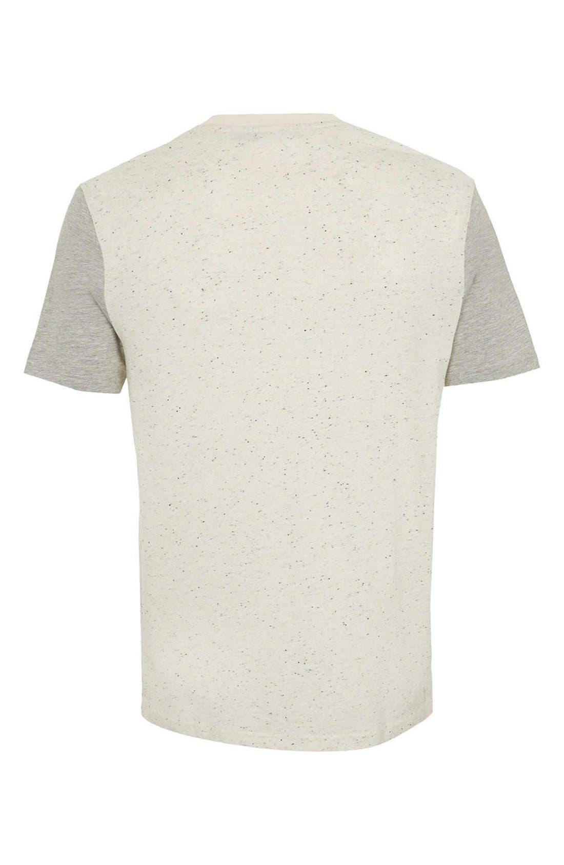 Alternate Image 2  - Topman Nep Contrast T-Shirt