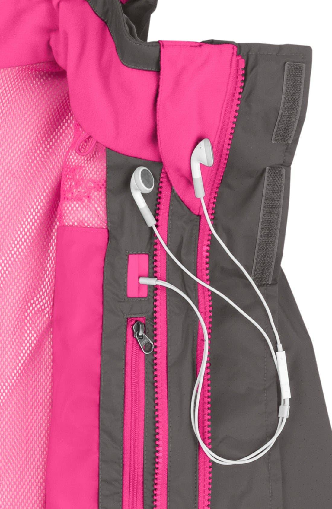 Alternate Image 5  - The North Face 'Maraboo Triclimate®' Waterproof Heatseeker™ Aero Snow Sport Jacket (Little Girls & Big Girls)