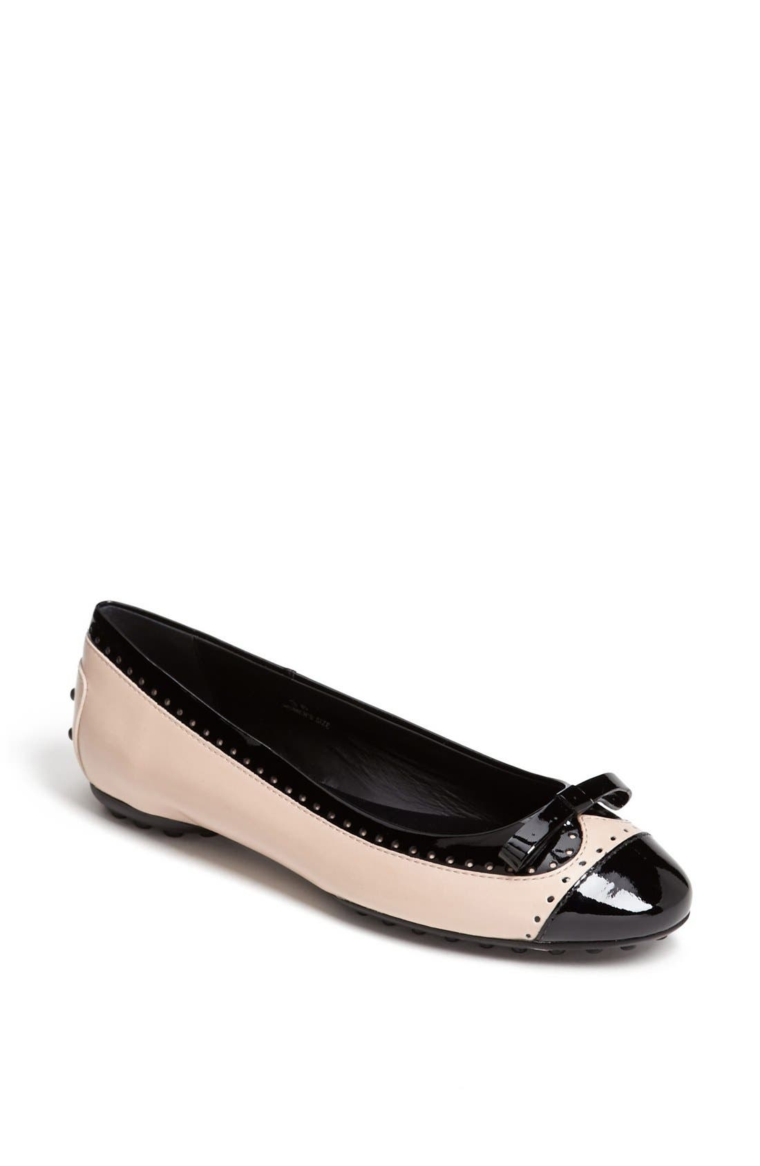 Alternate Image 1 Selected - Tod's Ballet Flat