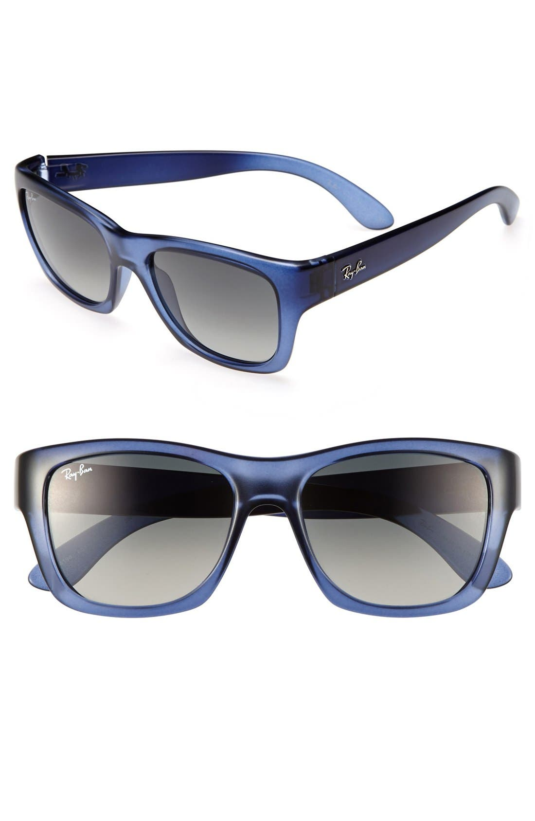 Alternate Image 1 Selected - Ray-Ban 'Square Glam' 53mm Sunglasses