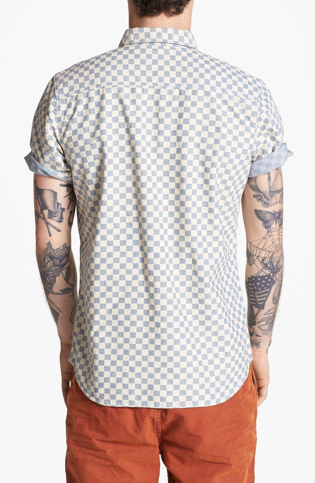 Alternate Image 3  - Vans 'Edgeware' Short Sleeve Woven Shirt