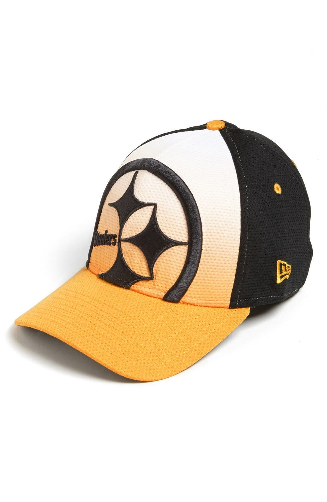 Alternate Image 1 Selected - New Era Cap 'Gradation - Pittsburgh Steelers' Baseball Cap