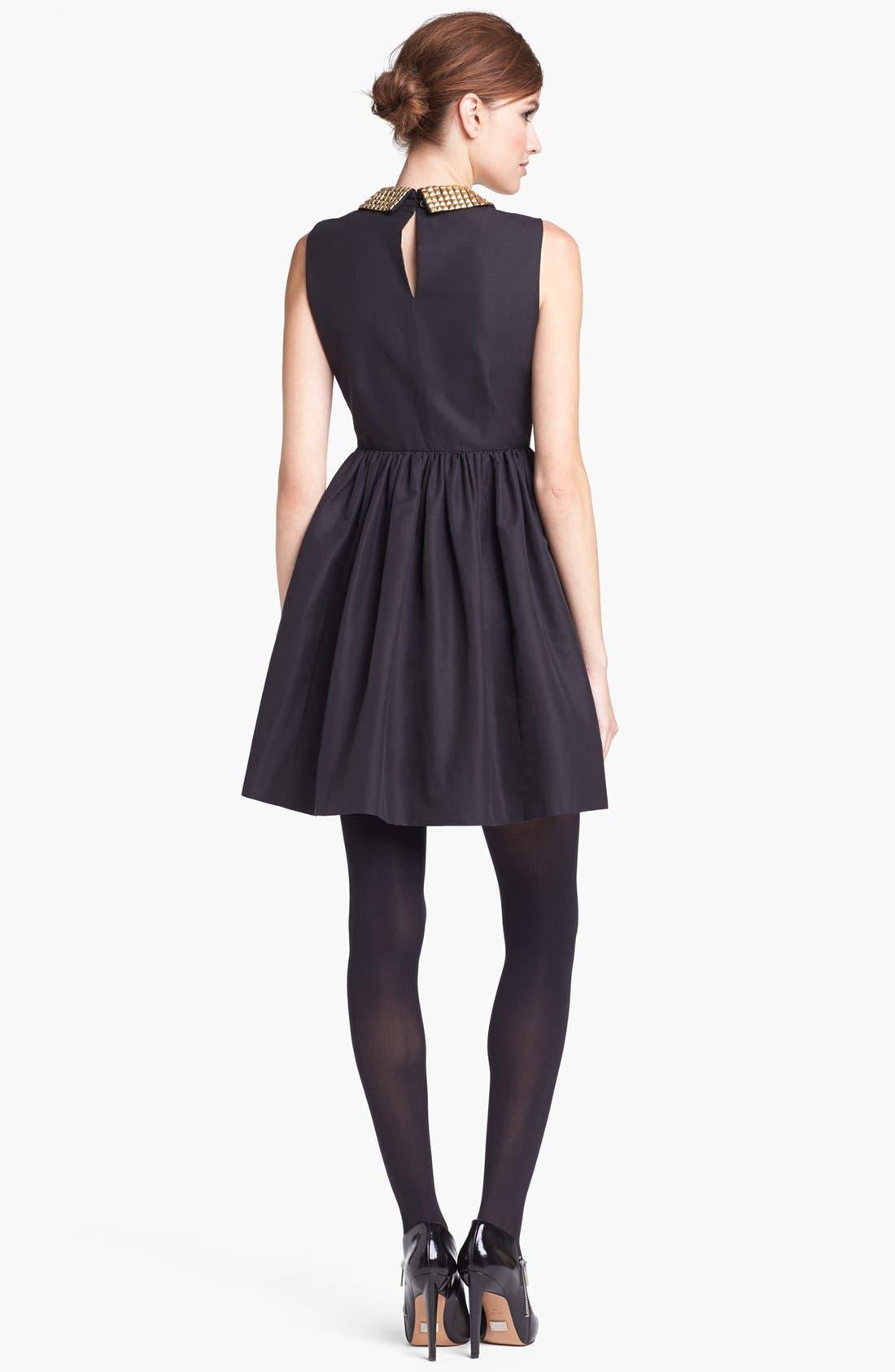 Alternate Image 2  - kate spade new york 'laurence' cotton blend fit & flare minidress