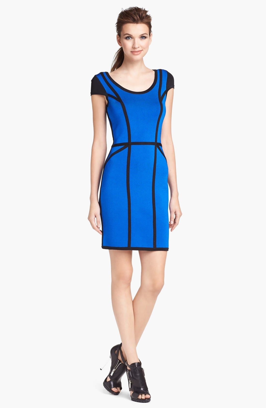Main Image - Milly Stretch Body-Con Dress