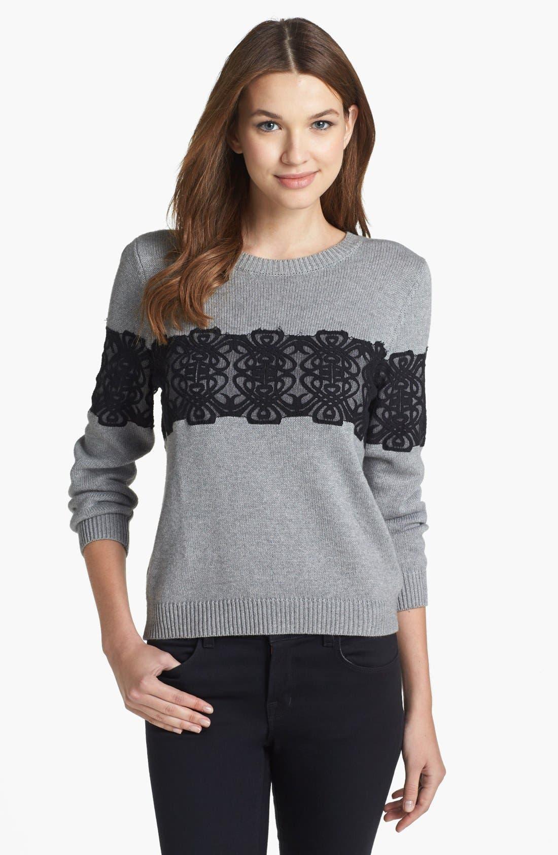 Alternate Image 1 Selected - Rachel Roy Embellished Sweater