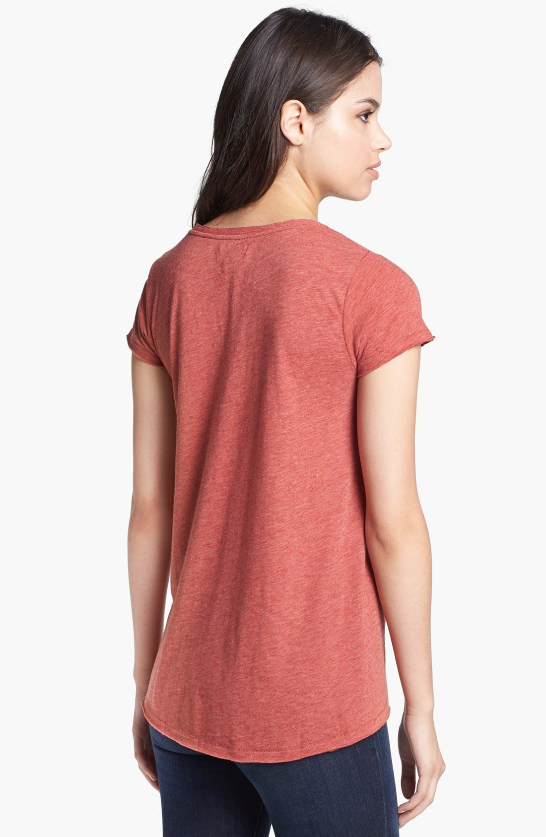 Alternate Image 2  - Lucky Brand Elephant Graphic Tee