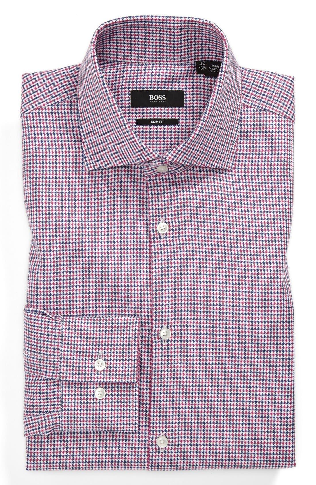 Alternate Image 1 Selected - BOSS HUGO BOSS 'Jaron' Slim Fit Dress Shirt