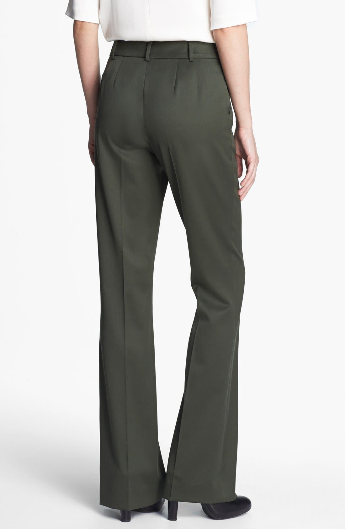 Alternate Image 2  - St. John Collection 'Annabel' Bootcut Venetian Wool Pants