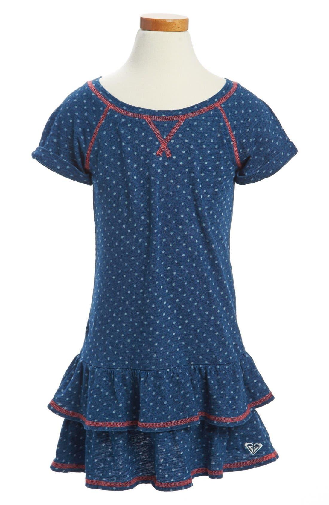 Alternate Image 1 Selected - Roxy 'Fall Limit' Dress (Toddler Girls)