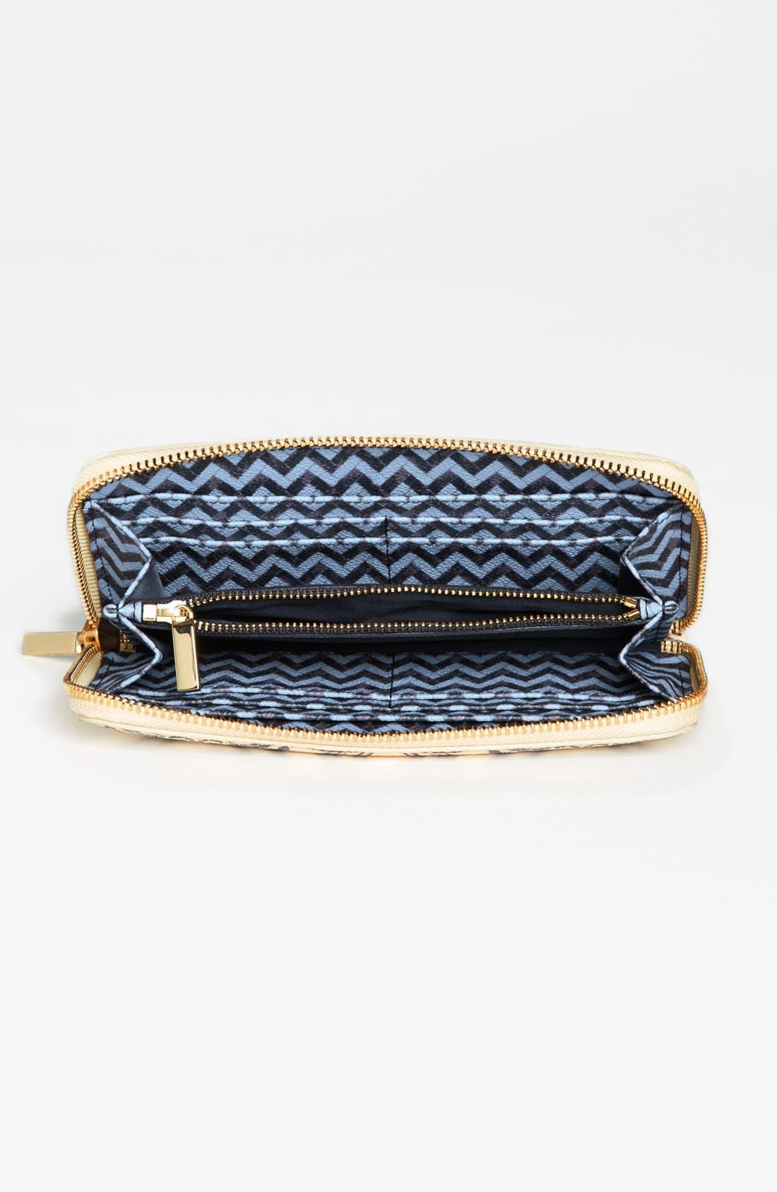 Alternate Image 3  - Tory Burch 'Robinson' Zip Continental Wallet