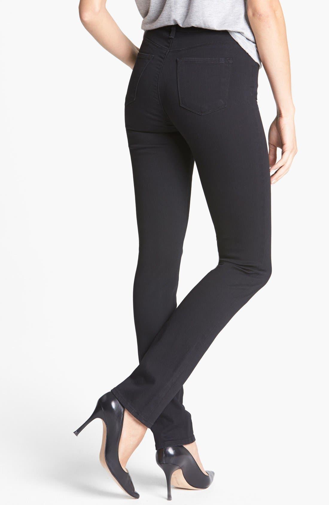 Alternate Image 2  - J Brand '2112 Rail' High Rise Skinny Jeans (Hewson)