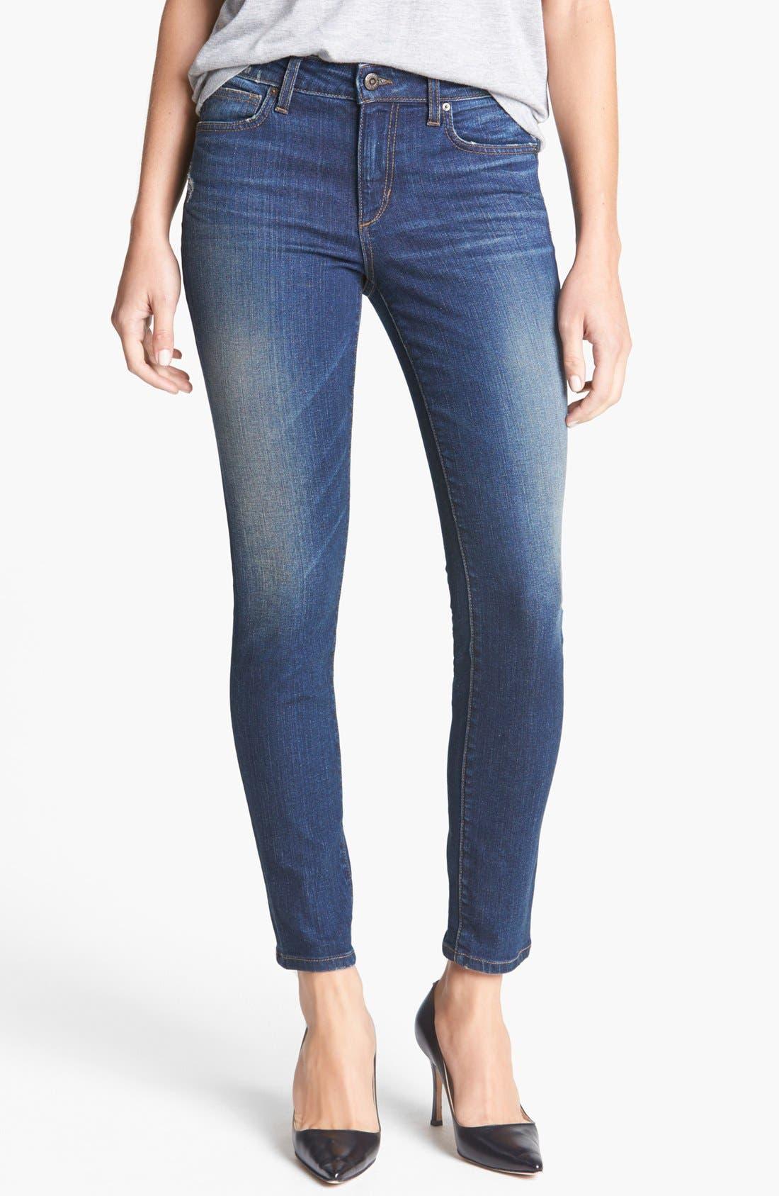 Alternate Image 1 Selected - Joe's Skinny Ankle Jeans (Margaux)