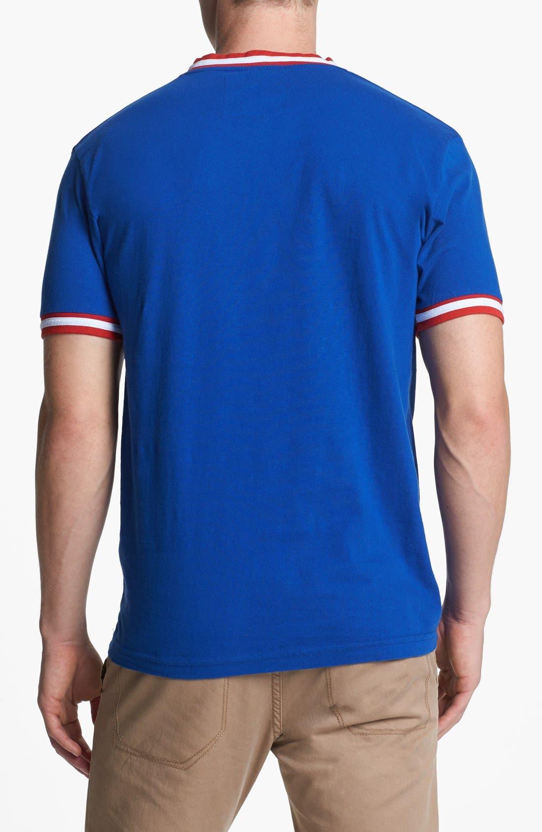 Alternate Image 2  - Wright & Ditson 'Chicago Cubs' V-Neck T-Shirt