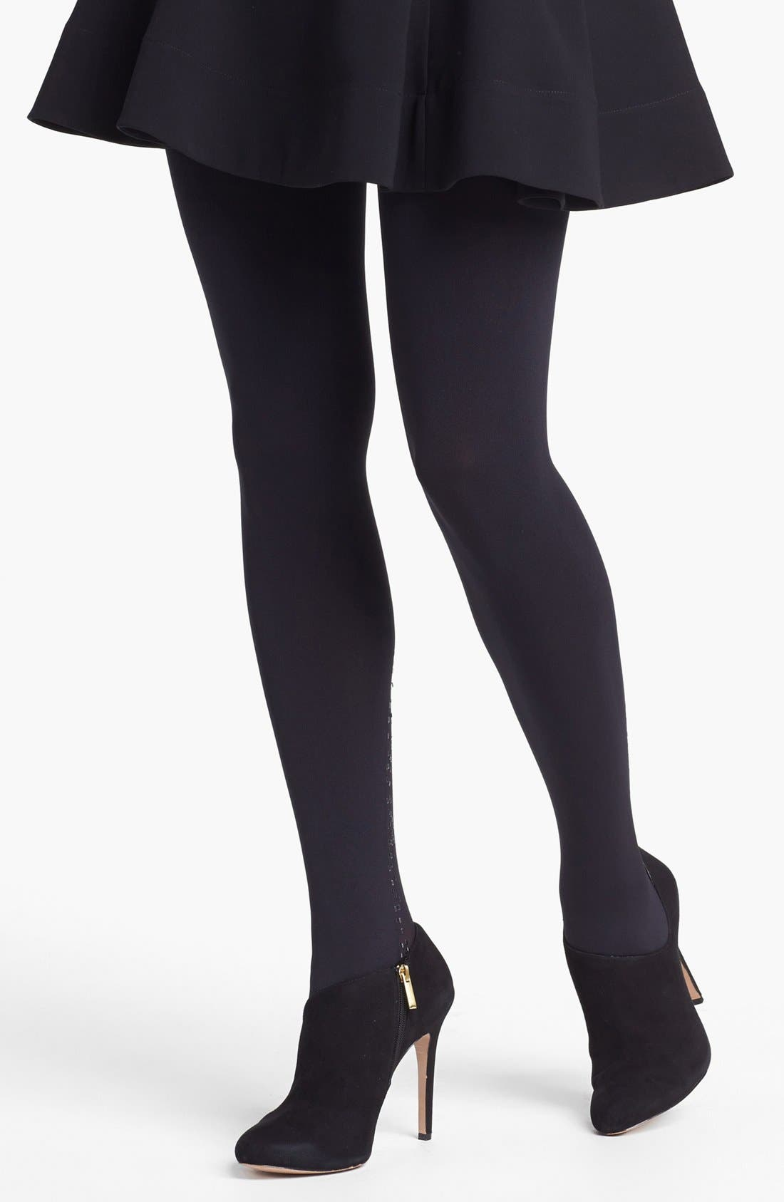 Alternate Image 2  - Pretty Polly 'Touch' Embellished Tights