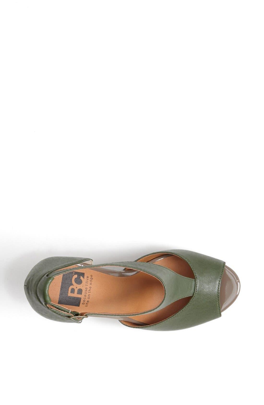 Alternate Image 3  - BC Footwear 'Lickety Split' Wedge Sandal