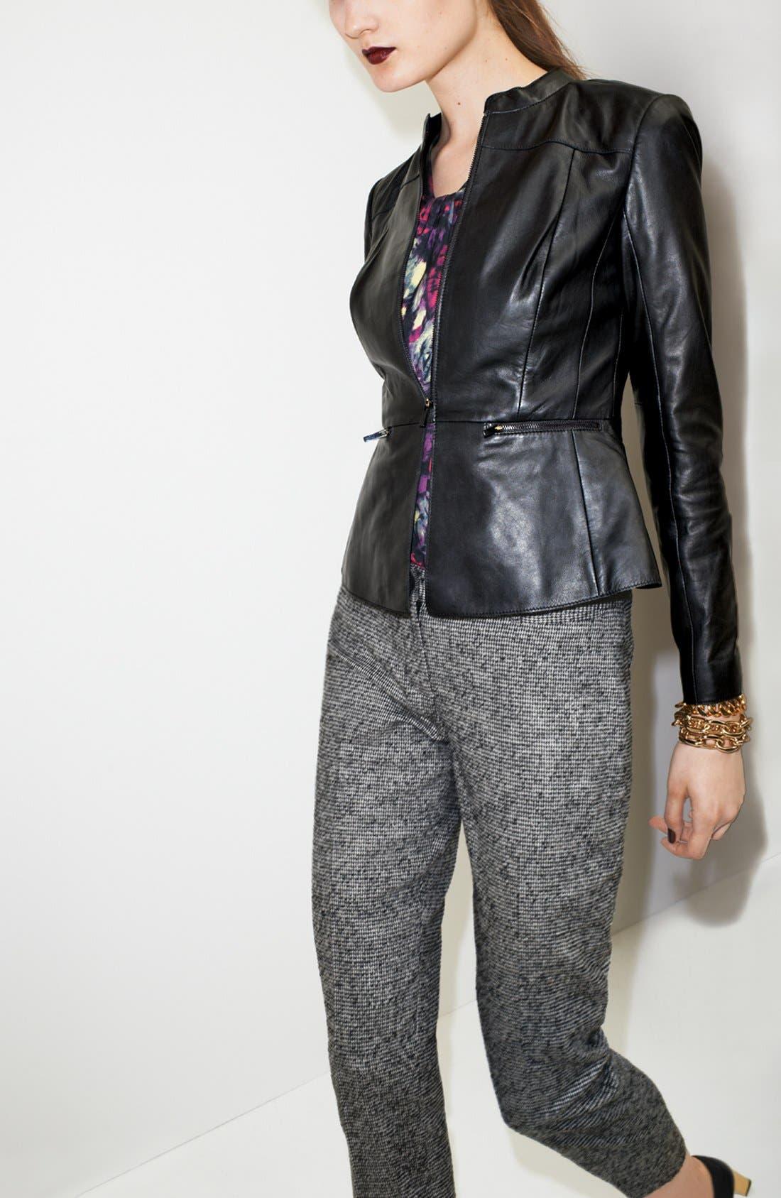 Alternate Image 5  - Classiques Entier® 'Lamb Moss' Leather Jacket