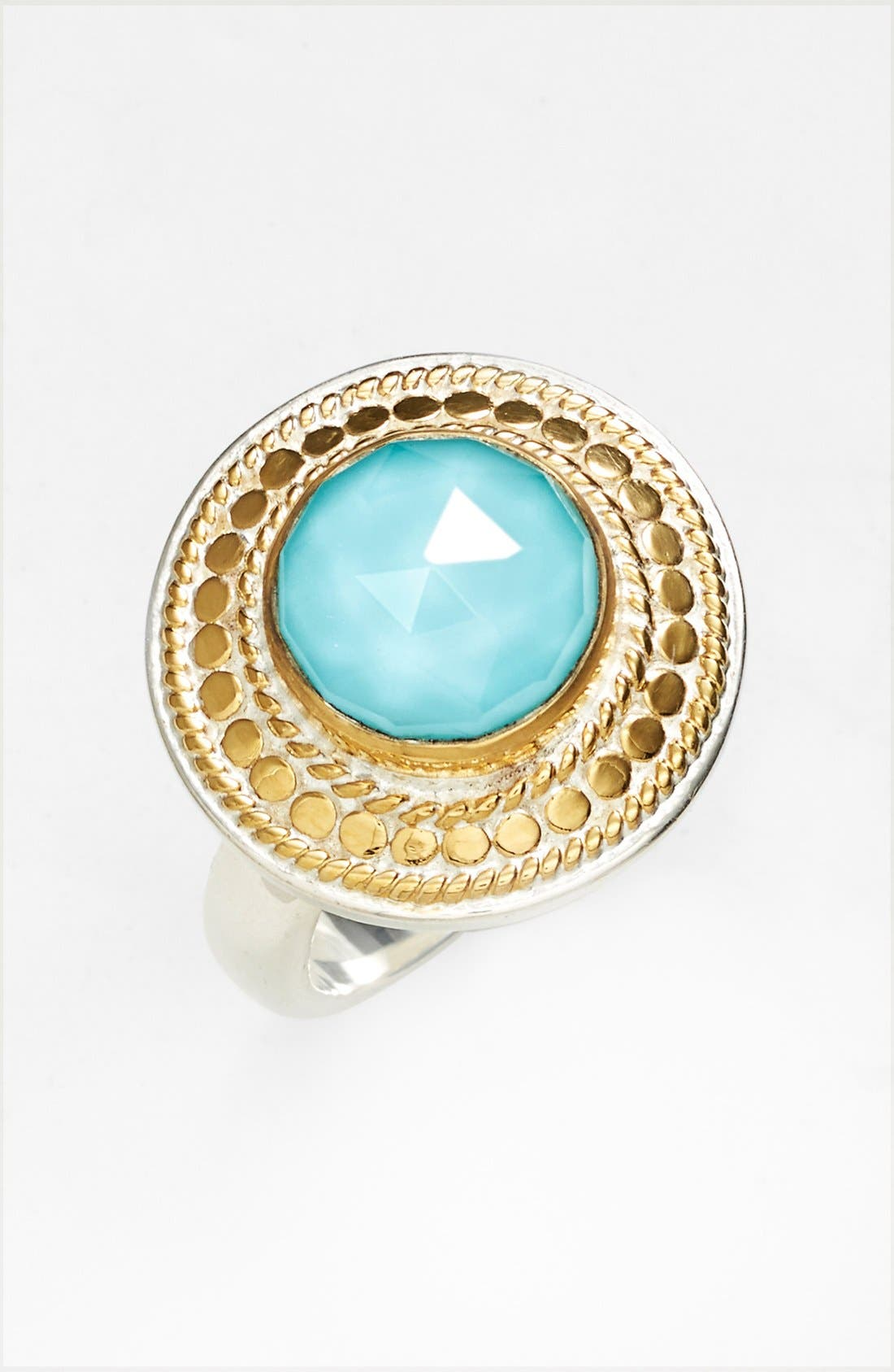 Main Image - Anna Beck 'Gili' Wire Rimmed Stone Ring (Online Only)