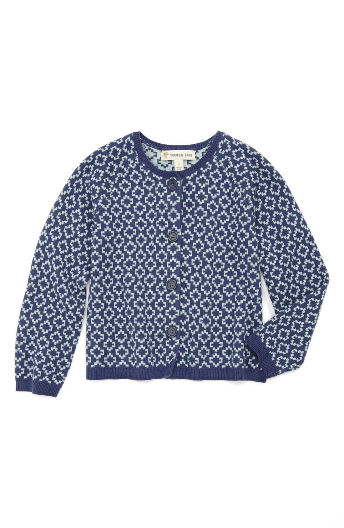 Main Image - Tucker + Tate 'Amber' Cardigan (Toddler Girls)