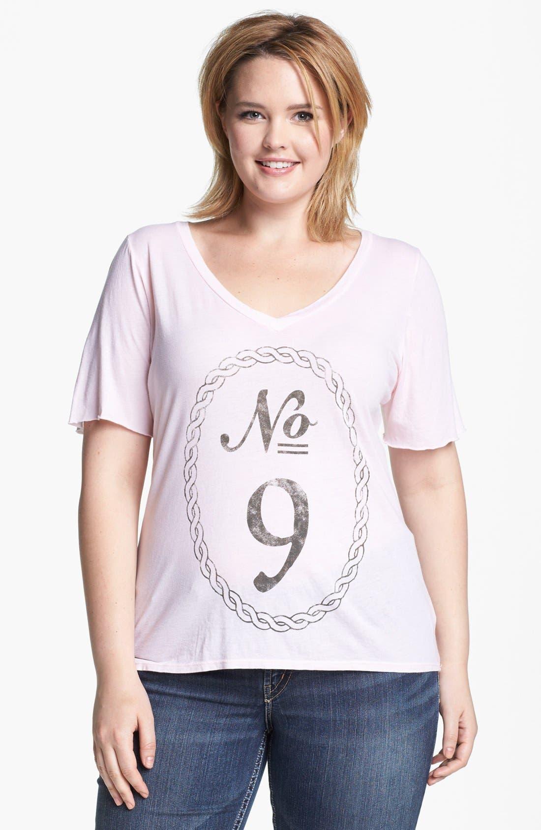 Alternate Image 1 Selected - Signorelli 'No. 9' Tee (Plus Size)