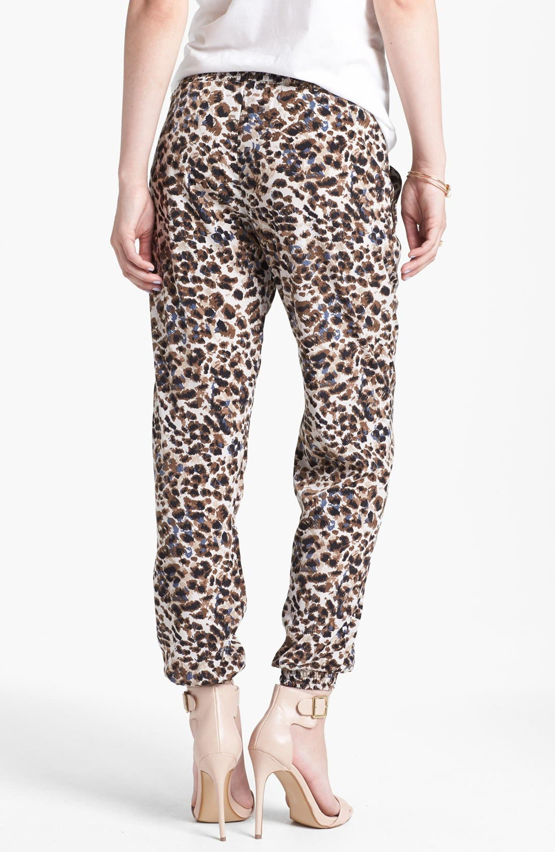 Alternate Image 2  - Lily White Relaxed Woven Pants (Juniors) (Online Only)